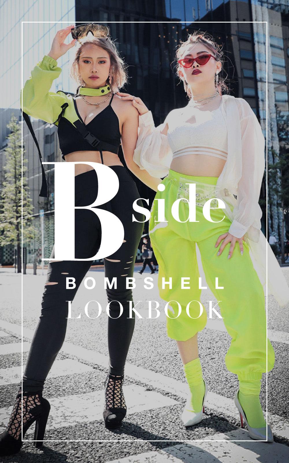bombshell ダンス衣装 ブラックmusicでHIPHOPなブラックスタイル